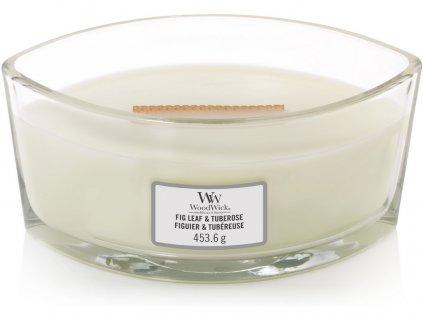 Sviečka WoodWick  454g - Figový list a tuberóza