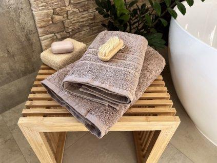 Froté uterák HOTEL 500g - Béžový 50x100