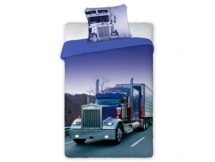 povleceni kamion 140x200 70x90 100 bavlna