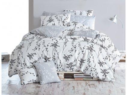 pblumen v4 grey bavlnene povleceni blumen sede bedtex 1 1 561913