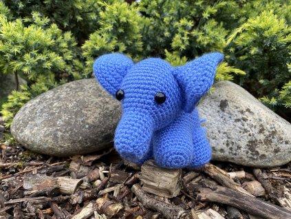 slon modrý Tom