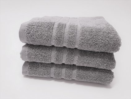 Froté uterák 30x50 - Svetlo sivý