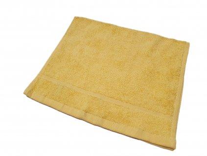 ručník30x50žlutý
