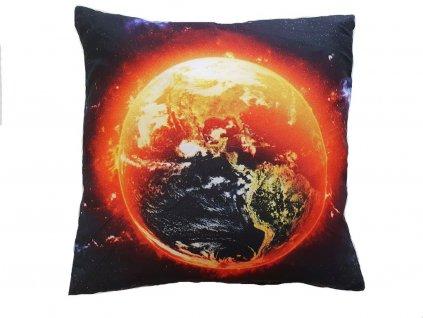 3D vankúš - Planeta 45x45