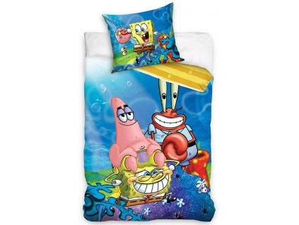 p476327 detske povleceni sponge bob patrick a pan krabs sbob201001 1 1 629233