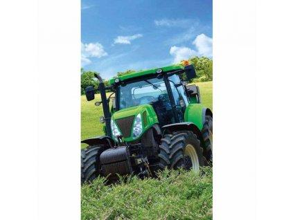 DL 211163 detsky rucnik traktor zeleny
