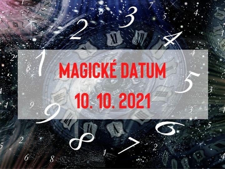 Přichází magické datum 10. 10. 2021, které přeje novému životnímu směru