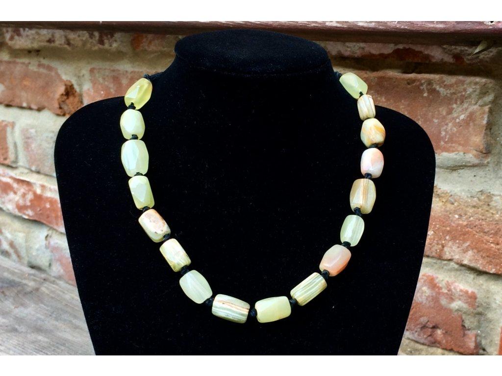 a544ce4f3 Dřevěný náhrdelník - 60 cm - Svět minerálů
