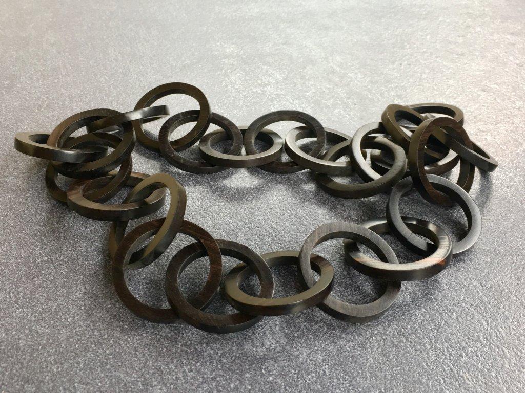 f427b9ac6 Dřevěný náhrdelník - 58 cm - Svět minerálů