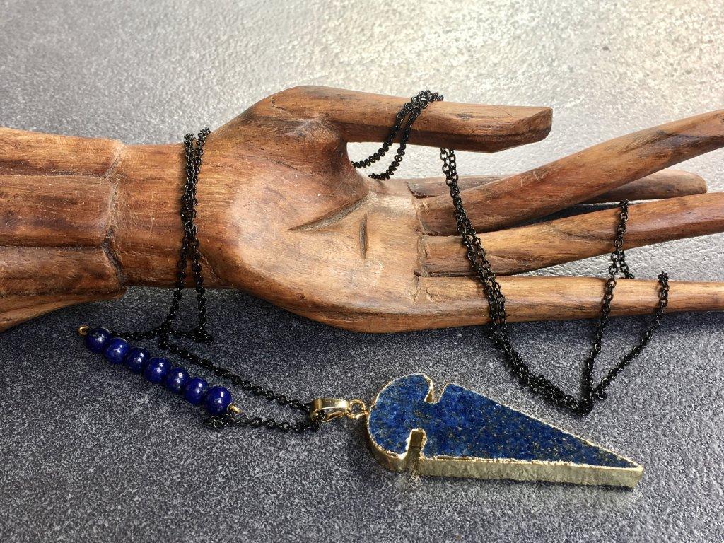 lapis lazuli náhrdelník