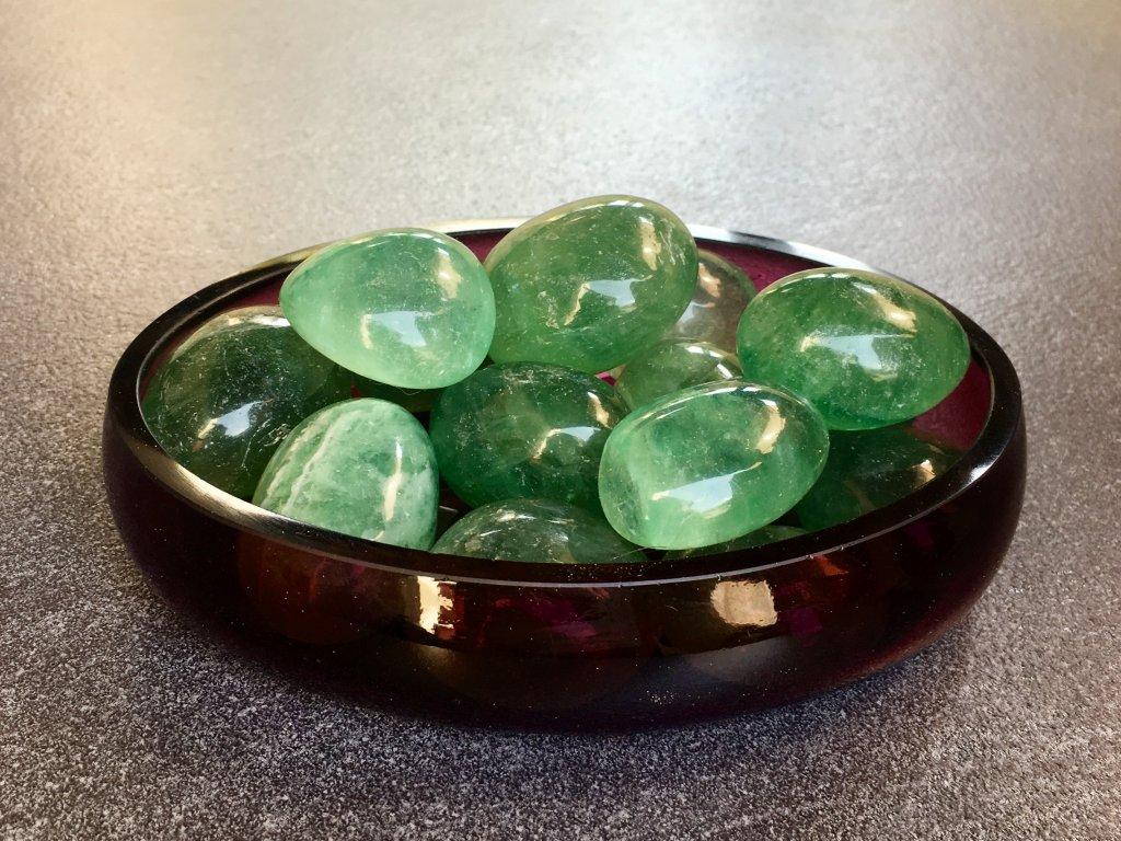 fluorit zelený troml