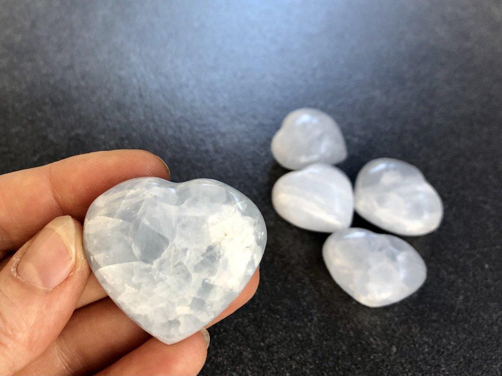 srdce z kalcitu