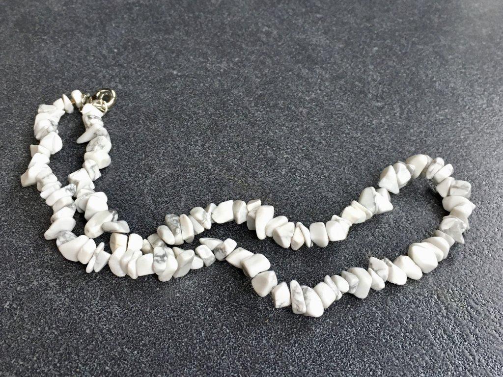 náhrdelníky z minerálů magnezit