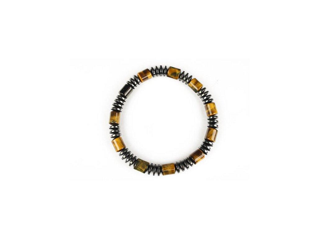 695e418b8 Hematit s tygřím okem náramek - Svět minerálů