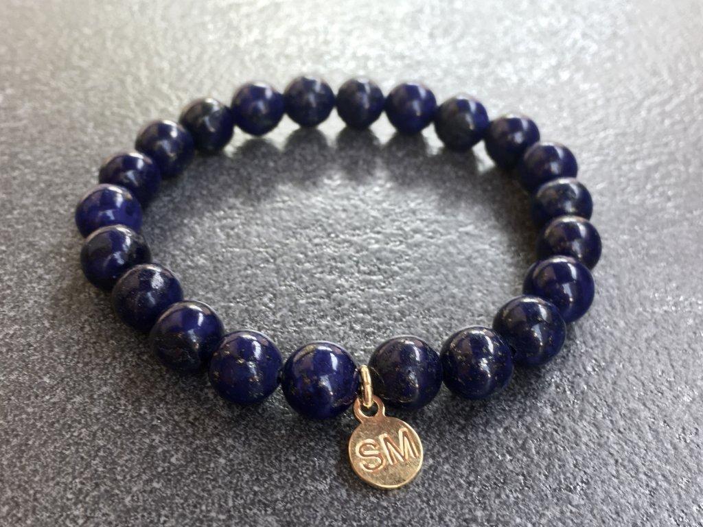 náramky z minerálů, Lapis lazuli náramek