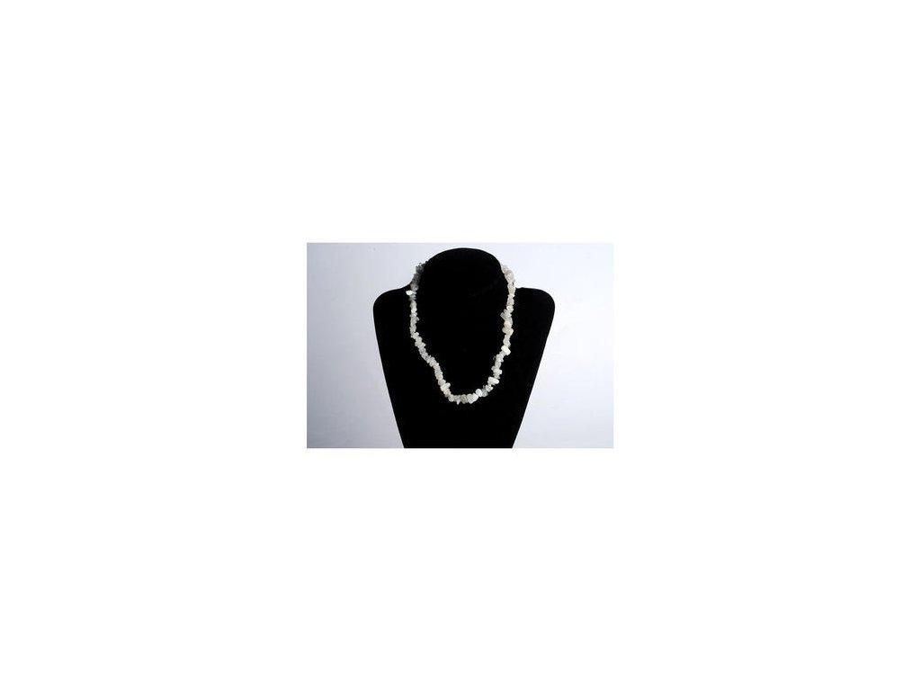 Měsíční kámen  45 cm náhrdelník