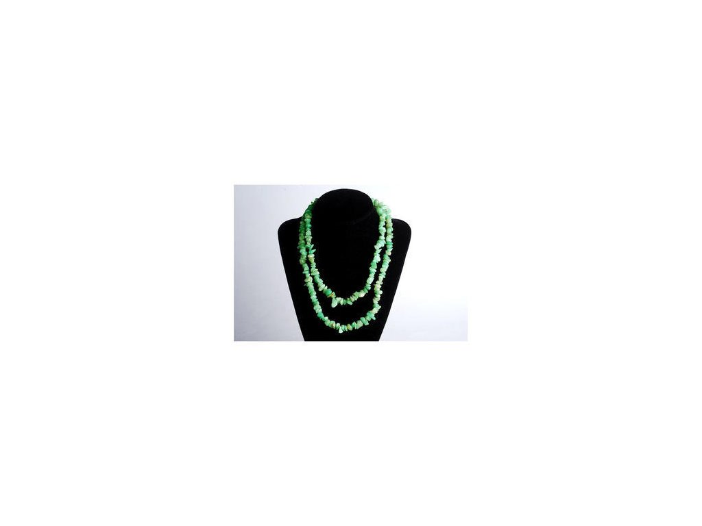 Amazonit 80 cm náhrdelník