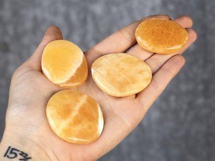Kalcit oranžový placička AAA