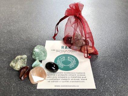 Balíček minerálů pro znamení Rak