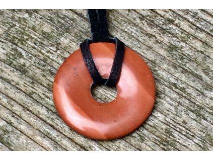 jaspis červený donut