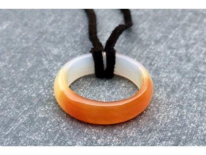 achát prsten