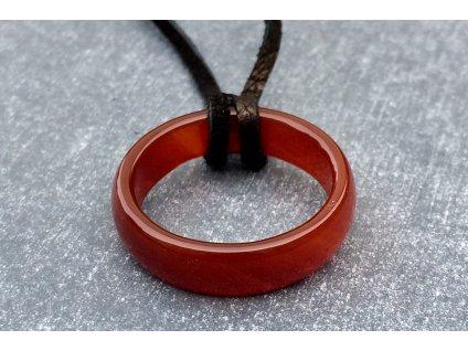 karneol prsten
