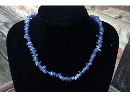 kyanit náhrdelník