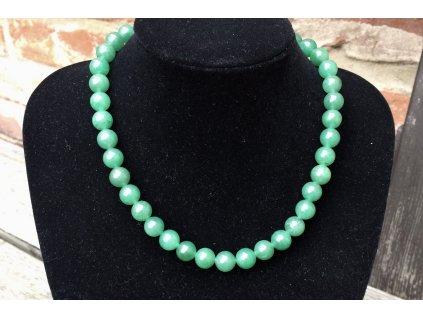 avanturín zelený náhrdelník