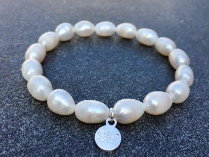 říční perla náramek