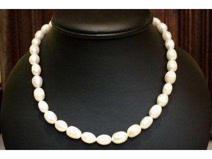 říční perla náhrdelník