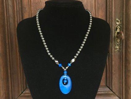 hematit náhrdelník