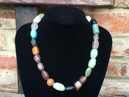 mix kamenů náhrdelník