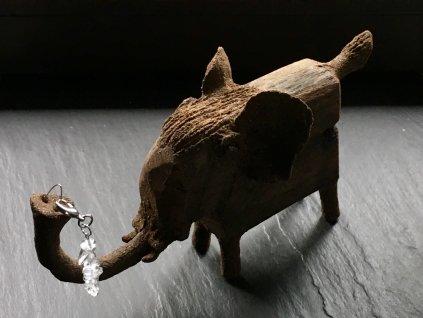 přívěsek pro zvířátka křišťál