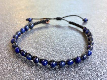 lapis lazuli náramek shamballa