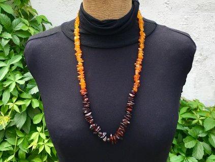 náhrdelníky z minerálů, jantar náhrdelník