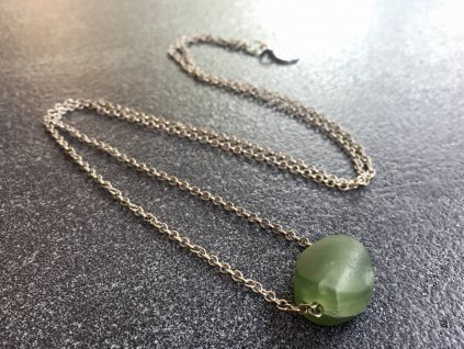 náhrdelník jadeit