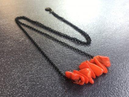 náhrdelník korál