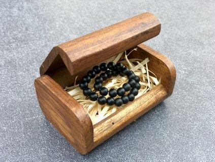dárková kazeta dřevo, krabička
