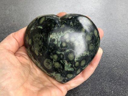 srdce z minerálů, jaspis kambaba srdce