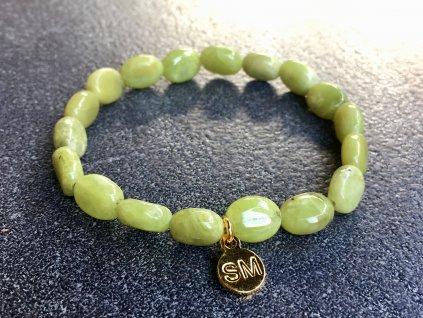 olivín náramek
