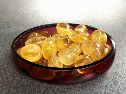 fluorit žlutý troml