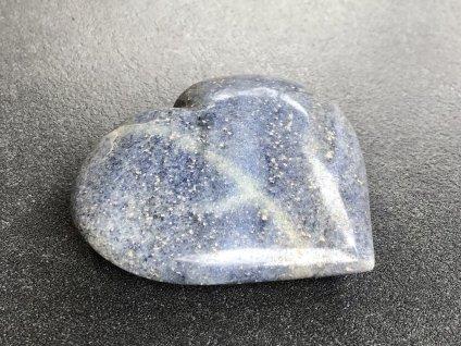 avanturín modrý srdce dárková kazeta