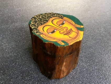 dřevěná dárková kazeta malovaná