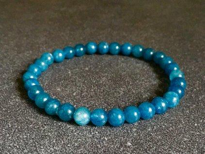 náramky z minerálů, kalcit modrý