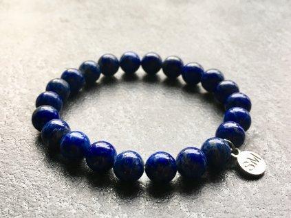 náramky z minerálů, lapis lazuli