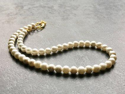 perla náhrdelník, imitace