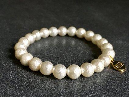 perla náramek, imitace