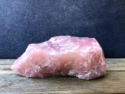 surové minerály, růženín surový XXXL