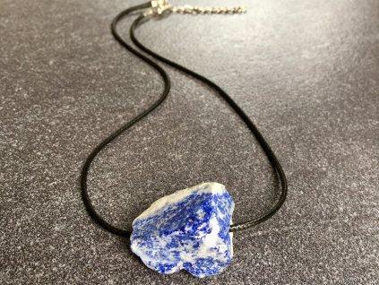 náhrdelníky z minerálů, lapis lazuli náhrdelník