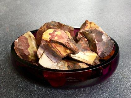 surové minerály, mookait surový